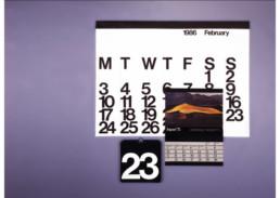 Calendario Stendig