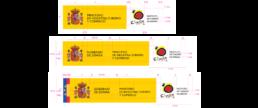 Uso del escudo en identidad institucional España