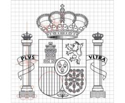 Cosntrucción del Escudo de España